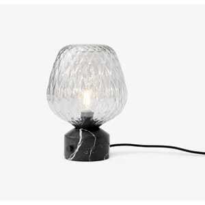 Blown Bordlampe SW6 Silver