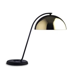 Bordlampe Cloche Black/Brass