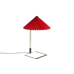 Bordlampe Matin Bright Red