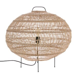 Gulvlampe Wicker Oval