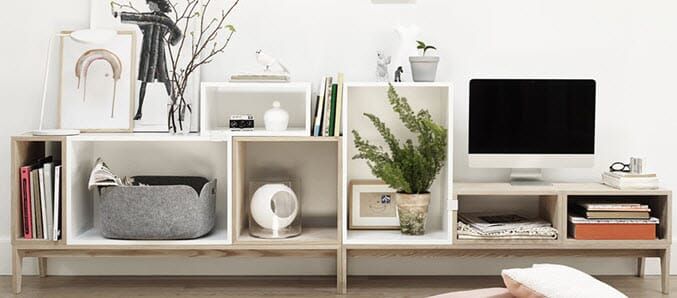 Muuto Stacked hyllesystem