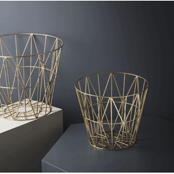 Wire Basket Messing