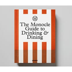 Boken The Monocle Guide to drinking and dining