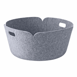 Restore Basket Round Grey