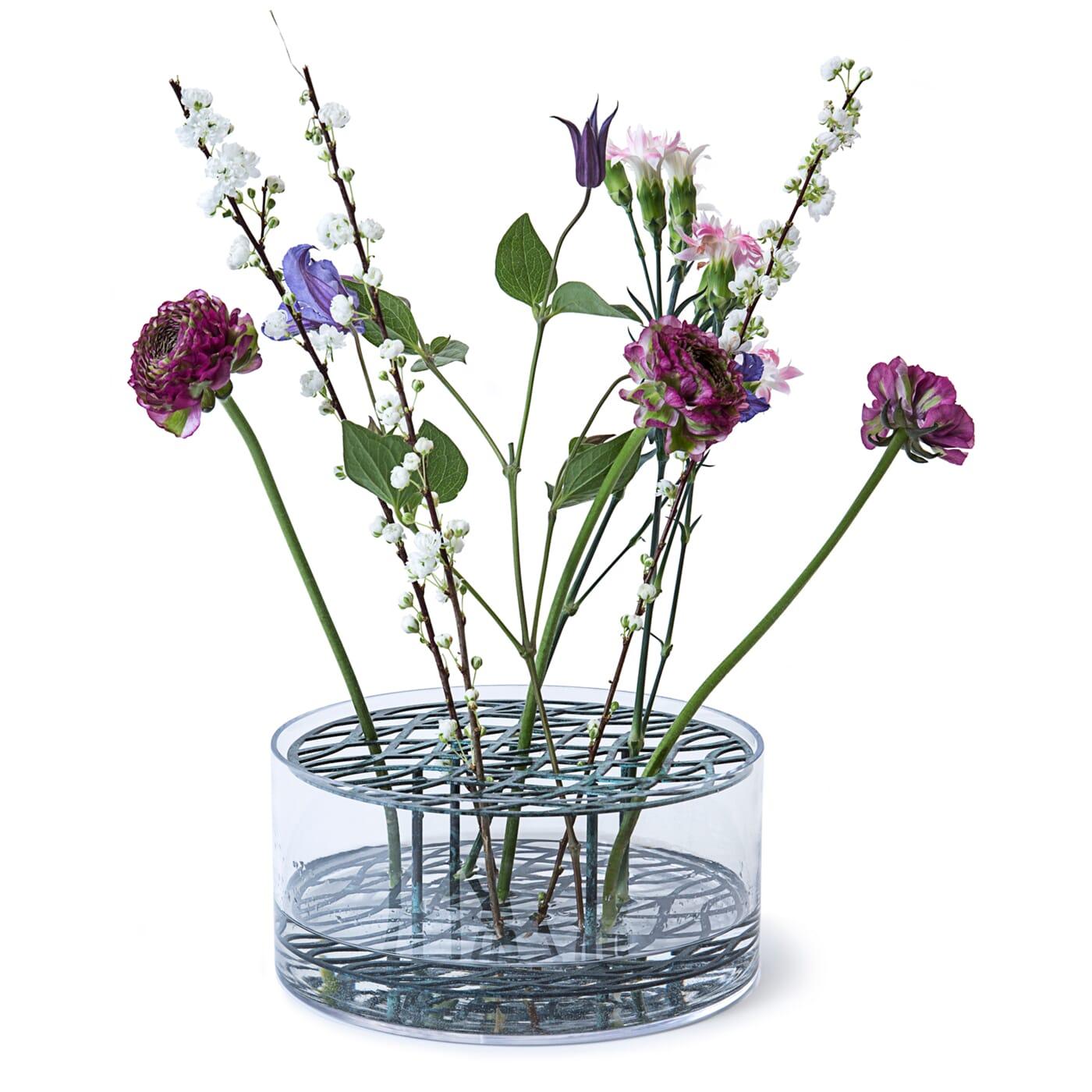 Bilde av Eng Vase Bluegreen L