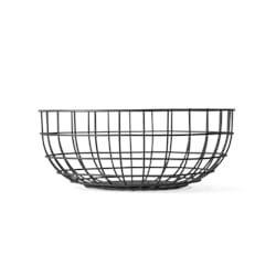 Wire Bowl Black