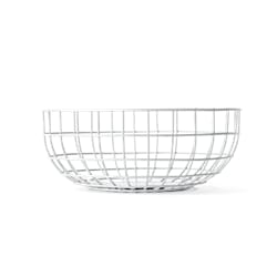 Wire Bowl White