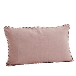 Putetrekk lin dusty rose 30x50