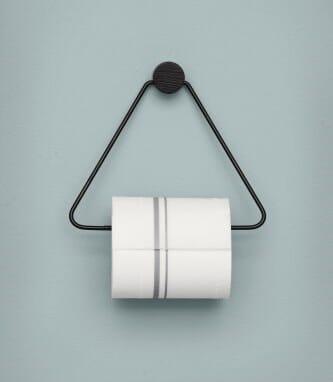 Fabelaktig Ferm Living Black Toilet Holder - Lunehjem.no - interiør på nett PQ-37