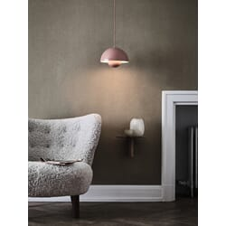Flowerpot Lamp VP1 Beige Red