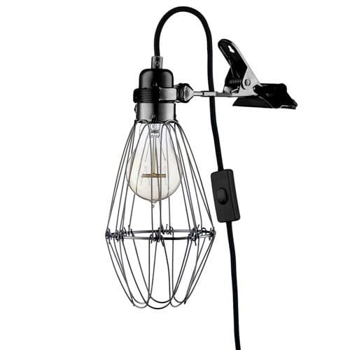 Work Lamp Black Lunehjem No Interior Pa Nett