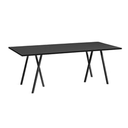 Loop Stand Table Svart