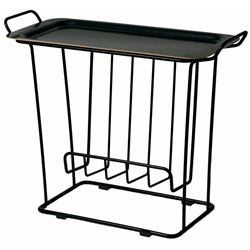Minnie Tray Table Black