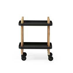 Normann Block Table Black