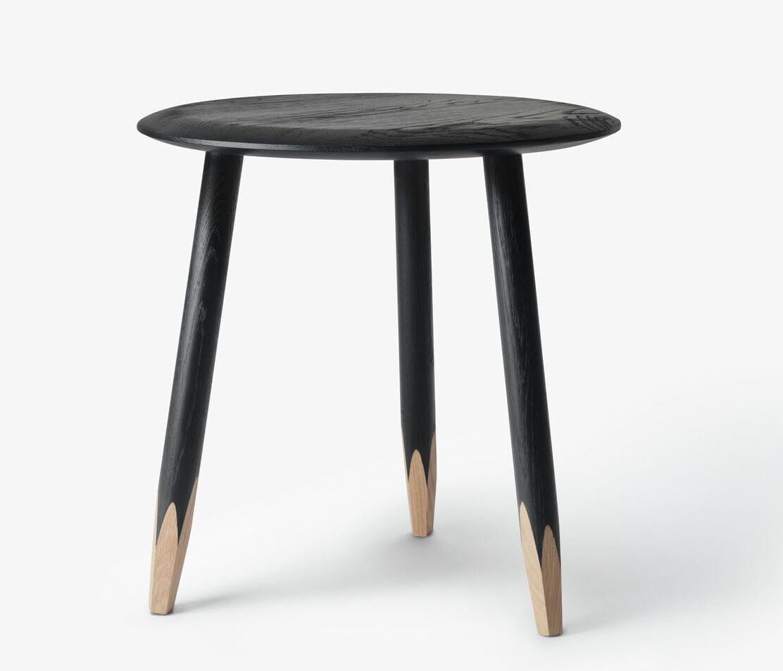 tradition Hoof Table SW1 Black - Lunehjem.no - interi?r p? nett