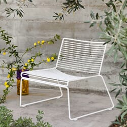 Hee Lounge Chair White