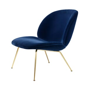 Beetle Lounge Chair Velvet