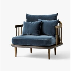 Fly Chair SC1 Smoked oak/velour blue