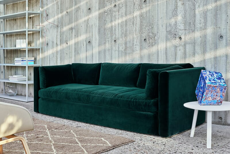 Hay Wrong for HAY Hackney sofa Velour - Lunehjem.no - interi?r p? ...