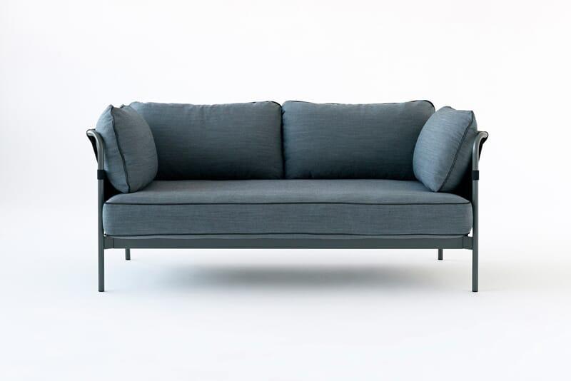 Hay can sofa 2 seter surface   lunehjem.no   interiør på nett
