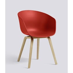 about a chair AAC22 warm red