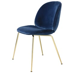 Beetle Dining Chair Brass