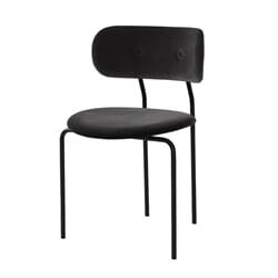 Coco Chair velvet Dark Grey