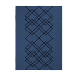 Rug Borg Royal Blue