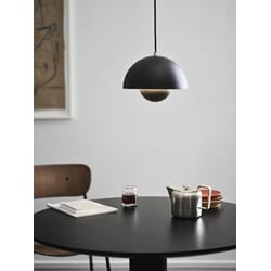 Flowerpot Lamp VP1 Matt Black