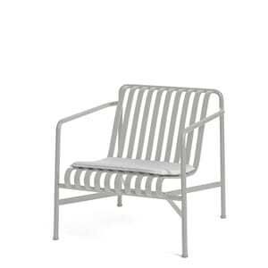 Palissade Lounge Chair Low Cream White