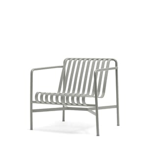 Palissade Lounge Chair Low Sky Grey
