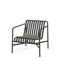 Palissade Lounge Chair Low Antrasite