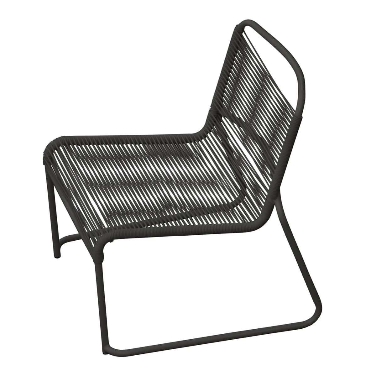 Pur Norsk | Fiam Lido 063 Lounge stol Hvit Utemøbler