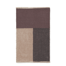 Pile badematte Brown