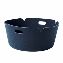 Restore Basket Round Midnight Blue