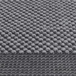 Pebble Rug Pale Dark Grey