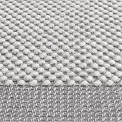 Pebble Rug Pale Light Grey