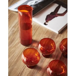 Funky Orange glass sett