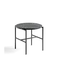 Rebar Coffee Table Svart/marmor Ø:45