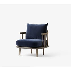 Fly Chair SC10 Røkt Eik/Velvet Blue