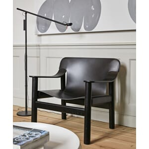 933919_Rel Bernard black leather cover deep stained oak base_Fifty-Fifty Floor Lamp black.jpg