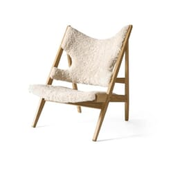 Knitting Lounge Chair Oak
