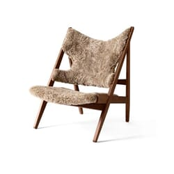 Knitting Lounge Chair Walnut