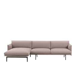 Outline Sofa Chaise Longue - left