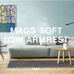 MODULOVERSIKT Mags Soft LOW Sofa