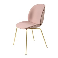 Beetle Dining Chair - Front Upholstery Steelcut Pink