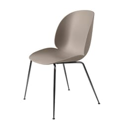 Beetle Dining Chair - Black Chrome Base