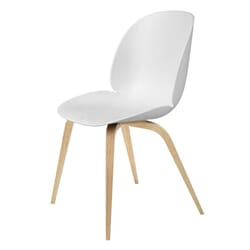 Beetle Dining Chair white/wood