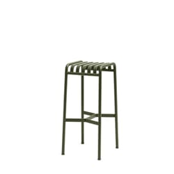 Palissade Bar Stool Olive H:78