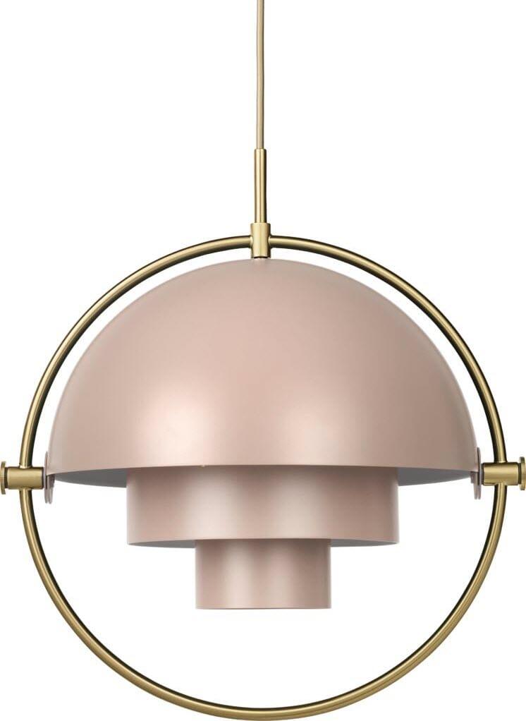 Gubi Multi lite Lampe Brass   Lunehjem.no   Interiør på nett